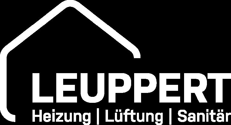 Leuppert Logo weiß